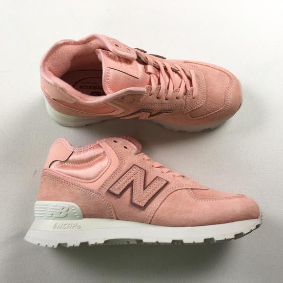 best website b2673 f79ca New Balance Pink 7 WH574BA 574 Running Sneakers